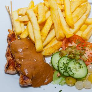 Saté menu